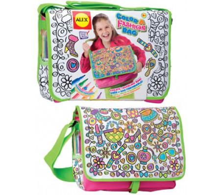 Раскрась сумку Модница с  фломастерамиНаборы для рисования