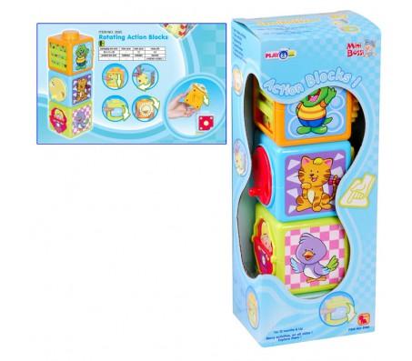 Развивающие кубики Action blocksКубики для малышей