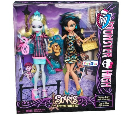 Школа Монстров Путешествие Лагуна Блю и Клео Де НилКуклы Школа монстров (Monster high)