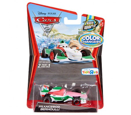 Тачки 2 Франческо Бернуолли Color ChangersТачки 2 (Cars 2)