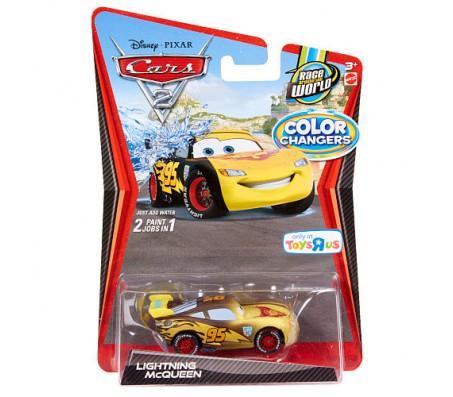 Тачки 2 Lightning McQueen Color ChangersТачки 2 (Cars 2)