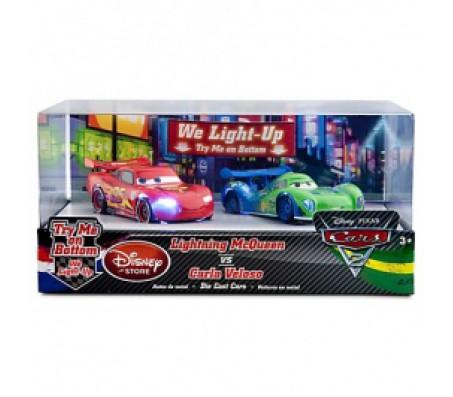 Тачки 2 МаКквин и Карла Велосо MattelТачки 2 (Cars 2)
