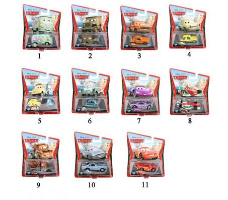 Тачки 2 Mattel Модельки машин в ассортиментеТачки 2 (Cars 2)
