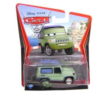 Тачки 2 Miles Axlerod от MattelТачки 2 (Cars 2)
