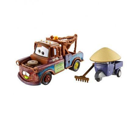Тачки 2 модельки Метр и Дзен Мастер 8см MattelТачки 2 (Cars 2)