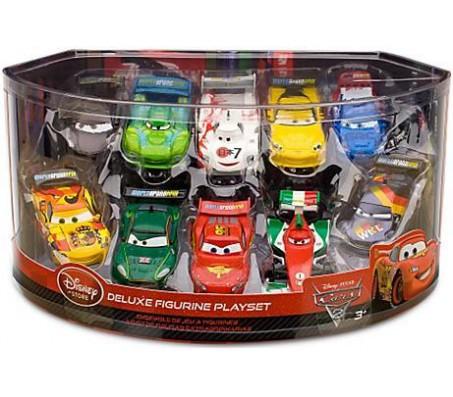 Тачки 2 Набор из 10 машин, пластик DisneyТачки 2 (Cars 2)