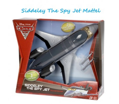 Тачки 2 Siddeley The Spy Jet MattelТачки 2 (Cars 2)