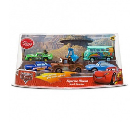 Тачки набор из 6 штук Mater, Гвидо, Салли Carerra, Филлмор, ЧикТачки (Cars)