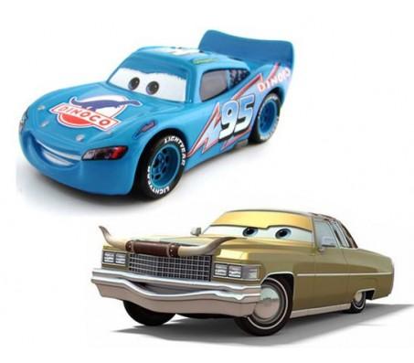Тачки Тех и Маквин динако MattelТачки (Cars)