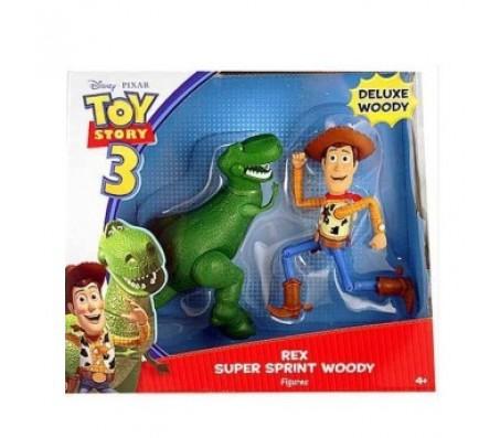 Toy Story 3 Бегущие Рекс и ВудиИстория игрушек (Toy Story)