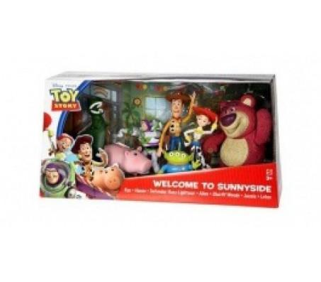 Toy Story 3 Набор из 7 фигурок Disney StoreИстория игрушек (Toy Story)