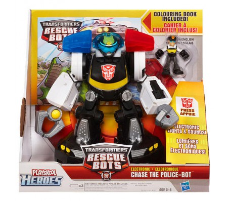 Трансформер Chase the Police-BotИгрушки Трансформеры (Transformers)