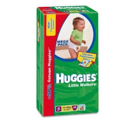 Трусики Хаггис Little Walkers 14-18 кг 48 штДетские подгузники