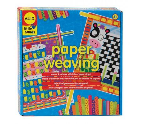 Узорное плетение из бумагиДетское рукоделие