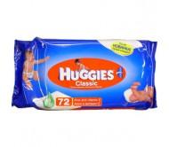 Влажные салфетки Huggies Classic 72 штуки