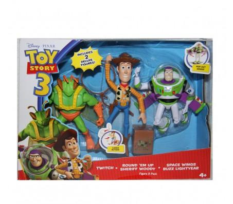 Вуди, Баз лайтер, ТвитчИстория игрушек (Toy Story)