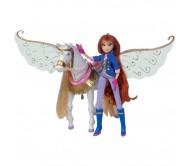 Winx Club Блум и Пег на крыльях магии
