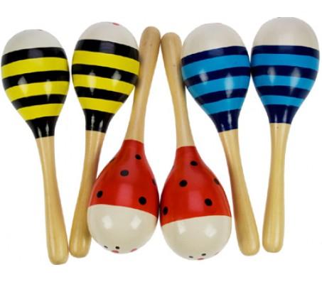 Яркие МаракасыМузыкальные игрушки