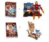 Железный человек (в ассортименте) Mega Blocks