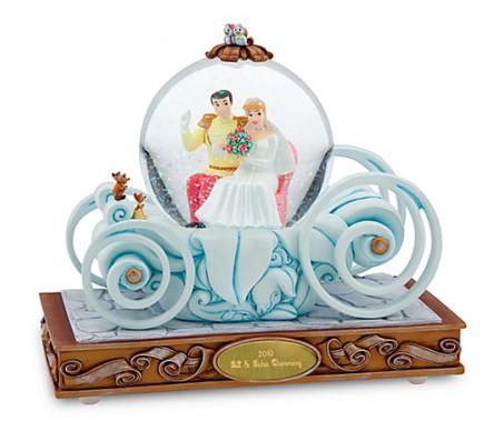Золушка и принц DisneyСнежные шары (Snowglobes)