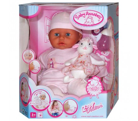Zapf Creation Baby Annabell Кукла многофункциональнаяКуклы Baby Annabell
